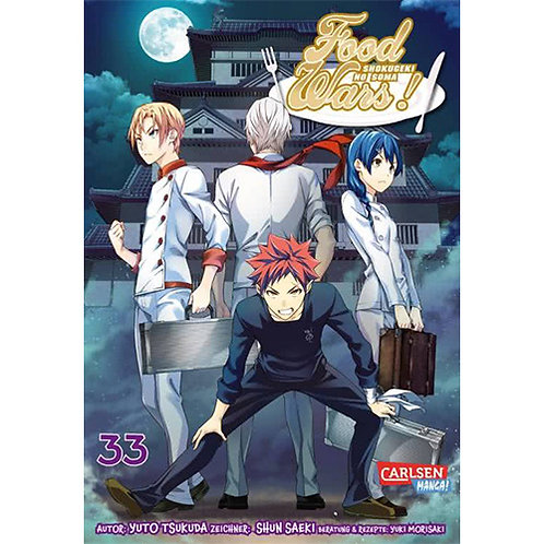 Food Wars - Shokugeki No Soma - Band 33 (Manga   Carlsen Manga)
