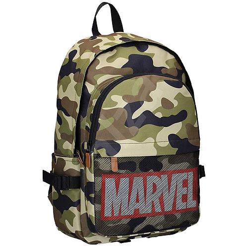 Marvel Logo - Retro Army (Rucksack | Marvel)