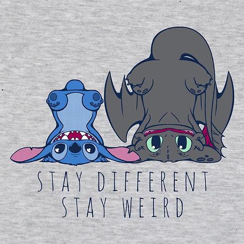 Stay Weird (Sweatshirt   XS - 2XL)