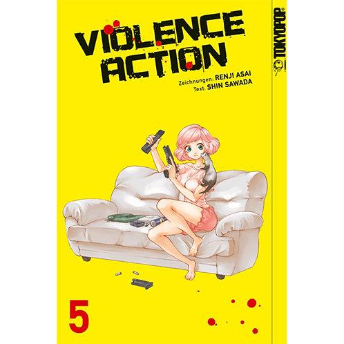 Violence Action - Band 5 (Manga | TokyoPop)