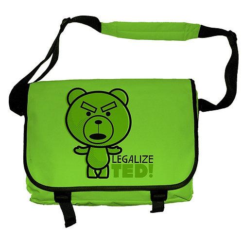 TED - Legalize Ted! (Umhänge Tasche)