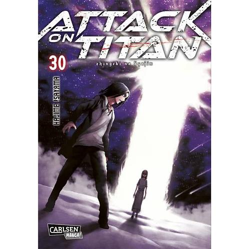 Attack on Titan - Band 30 (Manga   Carlsen)