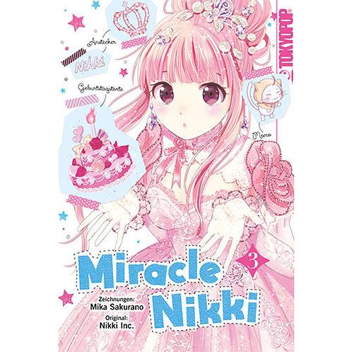 Miracle Nikki - Band 3 (Manga   Tokyopop)