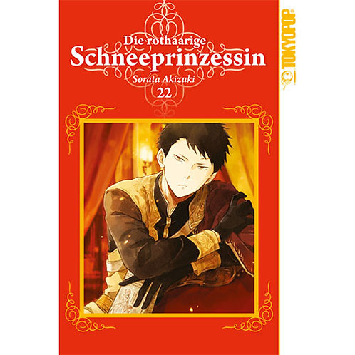 Die rothaarige Schneeprinzessin - Band 22 (Manga | Tokyopop)