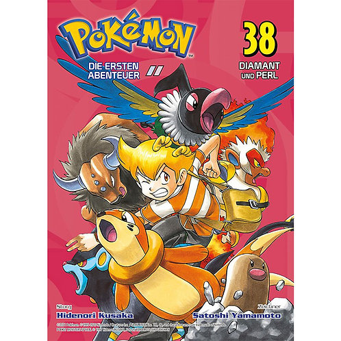 Pokémon - Die ersten Abenteuer - Band 38 (Manga   Panini Manga)