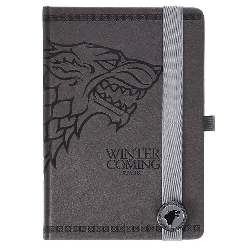 Game Of Thrones - Schattenwolf - Stark - A5 Notizbuch