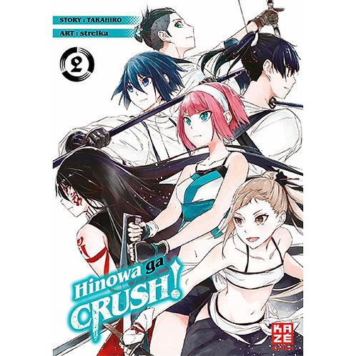 Hinowa ga CRUSH! - Band 2 (Manga | Kazé)