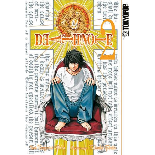 Death Note - Band 2 (Manga   TokyoPop)