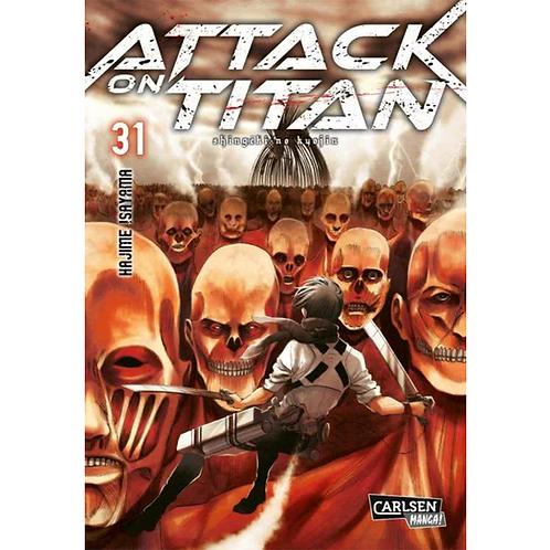 Attack on Titan - Band 31 (Manga | Carlsen)