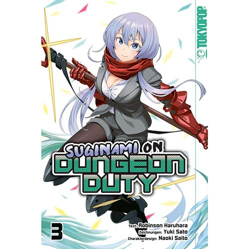 Suginami on Dungeon Duty - Band 3 (Manga | TokyoPop)