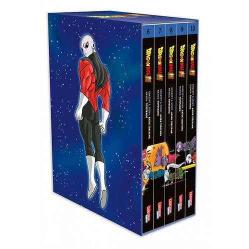 Dragon Ball Super - Band 06-10 im Sammelschuber mit Extra (Manga   Carlsen)