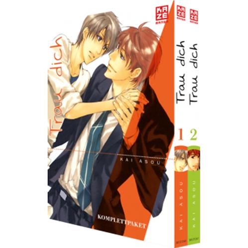 Trau Dich - Komplettpaket Band 1 & 2 im Schuber (Manga   Kazé)