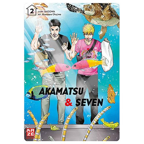 Akamatsu & Seven - Band 2 (Manga | Kazé)
