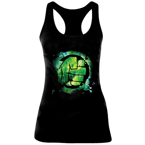 Hulk - Fist Logo - Marvel (Tanktop - Ladies)