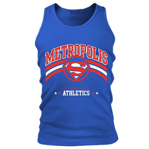 Superman - Metropolis Athletics - DC Comics (Tanktop - Unisex)