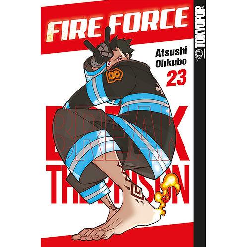Fire Force - Band 23 (Manga   Tokyopop)