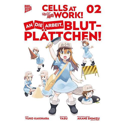 Cells at Work! An die Arbeit Blutplättchen - Band 2 (Manga   Manga Cult)