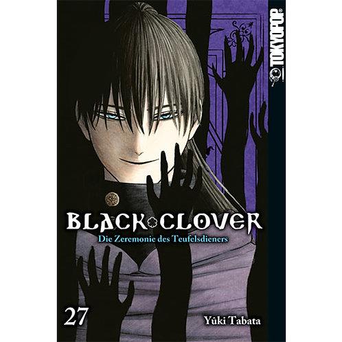 Black Clover - Die Zeremonie des Teufelsdieners - Band 27 (Manga | Tokyopop)