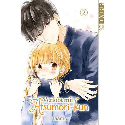 Verlobt mit Atsumori-kun - Band 2 (Manga   Tokyopop)