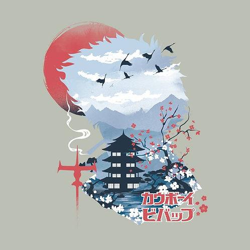 Ukiyo e Cowboy (T-Shirt - Ladies S - XL)