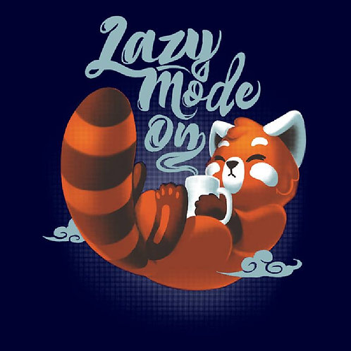 Lazy Mode ON (T-Shirt - Ladies)
