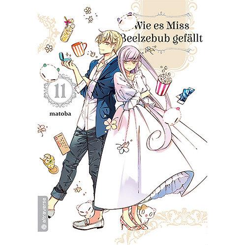 Wie es Miss Beelzebub gefällt -  Band 11 (Manga | altraverse)