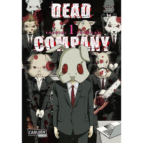 Dead Company - Band 1 (Manga   Carlsen Manga)