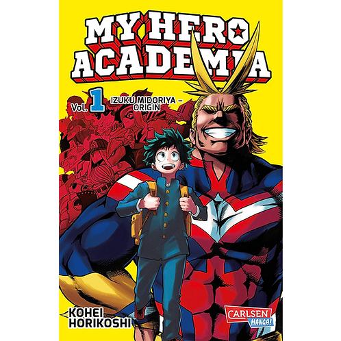 My Hero Academia - Band 01 (Manga | Carlsen)