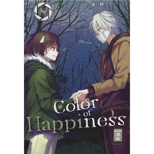 Color of Happiness - Band 08 (Manga | Egmont Manga)