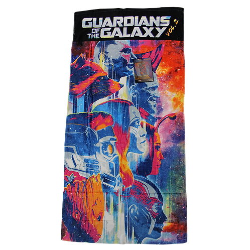 Guardians of the Galaxy Vol.2 - Handtuch - Velourstuch - Marvel