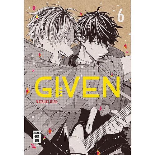 Given - Band 6 (Manga | Egmont Manga)
