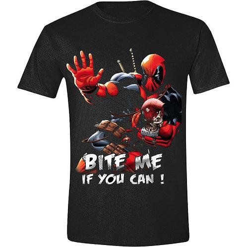 Deadpool - Bite Me - Marvel (T-Shirt - Unisex)