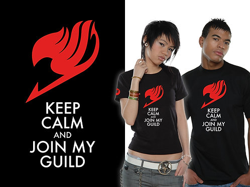 Fairy Tail - Keep Calm (T-Shirt - Ladies)