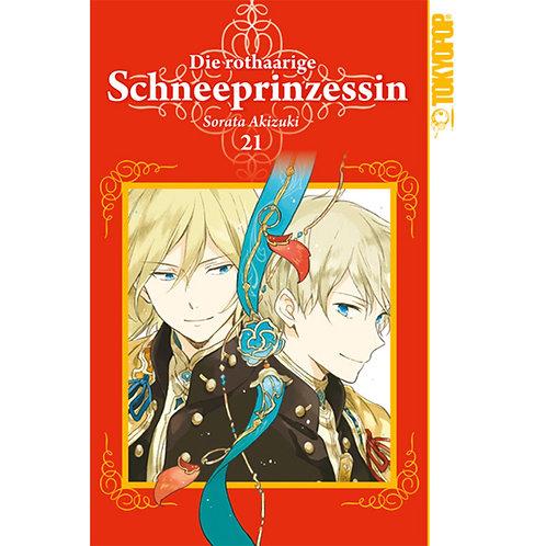 Die rothaarige Schneeprinzessin - Band 21 (Manga | TokyoPop)