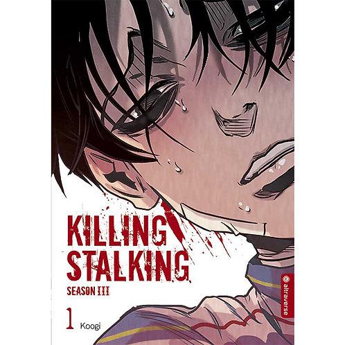 Killing Stalking - Season III - Band 01 (Manga | altraverse)