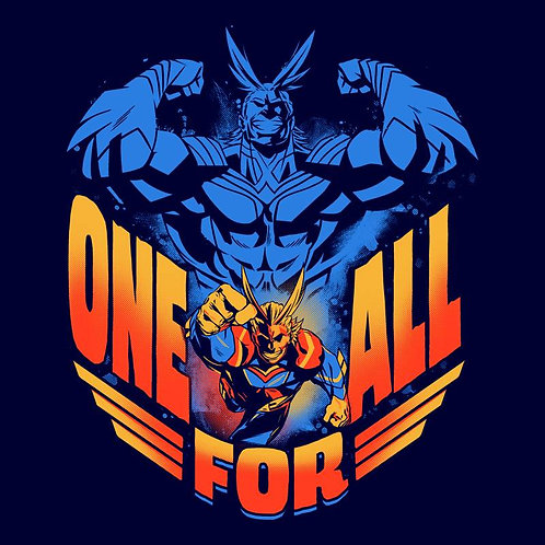 One For All (T-Shirt - Ladies S - XL)
