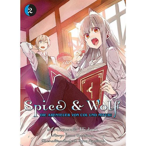 Spice & Wolf: Die Abenteuer von Col und Miyuri - Band 2 (Manga   Panini Manga)