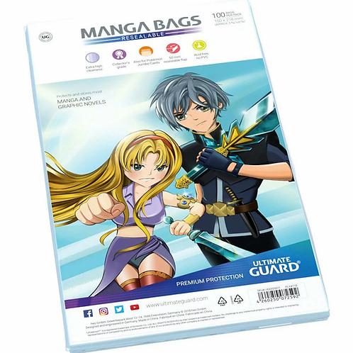 Manga Bags Wiederverschliessbar
