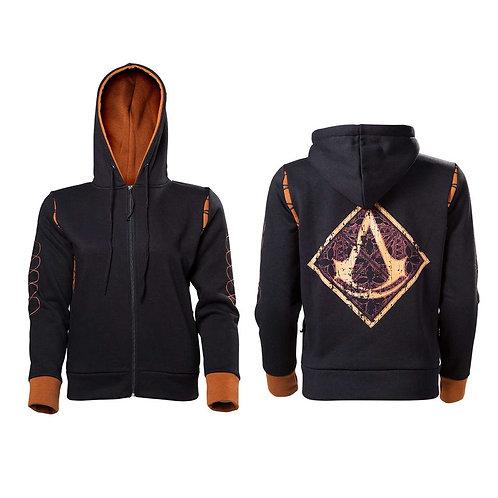 Assassin's Creed - Crest Logo - Marvel (Zipped Hoodie - Unisex)