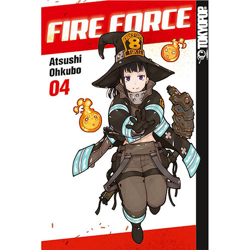 Fire Force - Band 4 (Manga | TokyoPop)