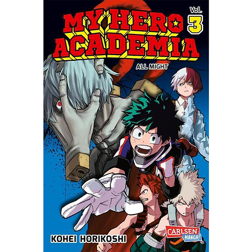 My Hero Academia - Band 03 (Manga   Carlsen)