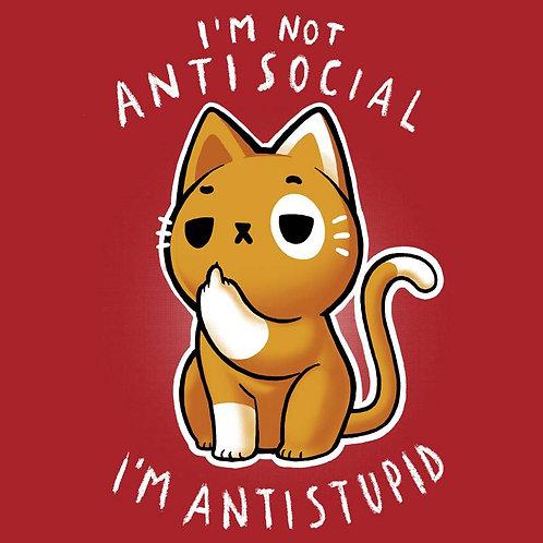 Antisocial (T-Shirt - Ladies S - XL)