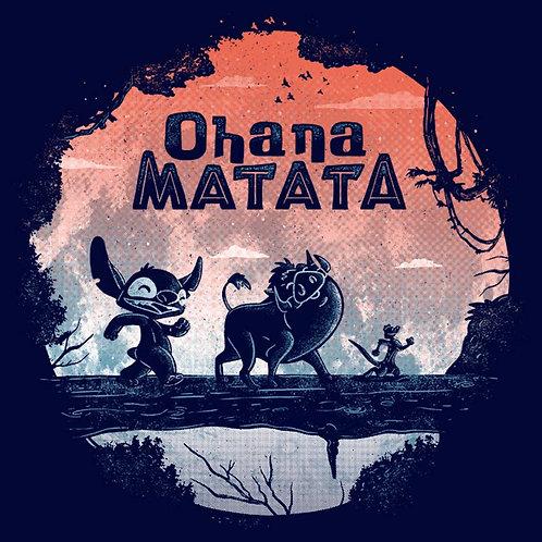 Ohana Matata (T-Shirt | Ladies S - 2XL)