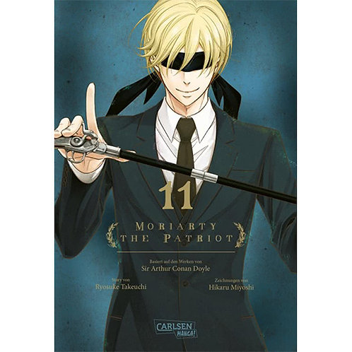 Moriarty the Patriot - Band 11 (Manga   Carlsen Manga)