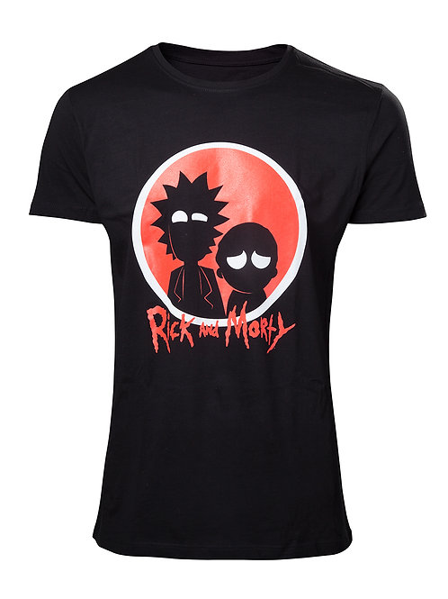 Rick & Morty - Silhouette (T-Shirt - Unisex)