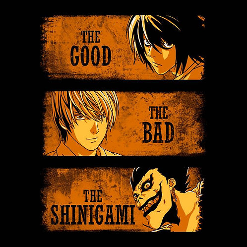 The Good, The Bad, and The Shinigami (T-Shirt - Unisex)