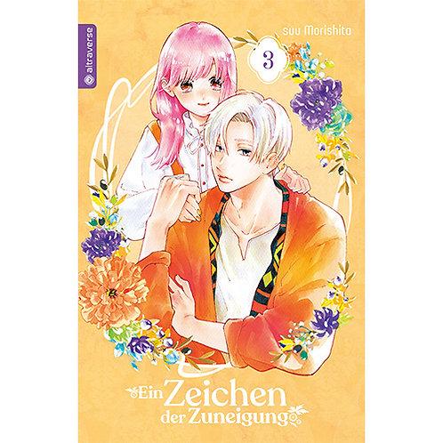 Ein Zeichen der Zuneigung - Band 3 (Manga | altraverse)