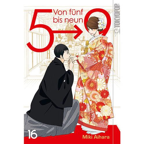 Von fünf bis neun - Band 16 (Manga   TokyoPop)