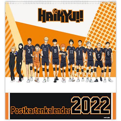 Haikyu!! - Postkarten Kalender 2022
