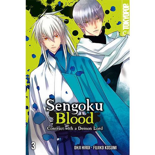 Sengoku Blood – Contract with a Demon Lord - Band 3 (Manga | Tokyopop)